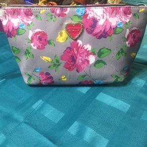 Betsey Johnson cosmetic bag NWT